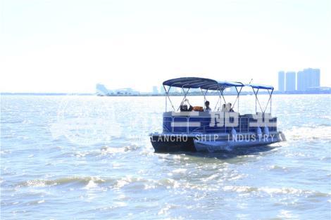 铝合金游艇图片