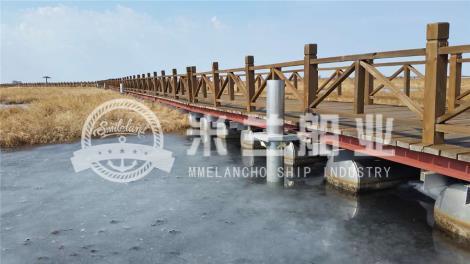 铝合金浮筒码头