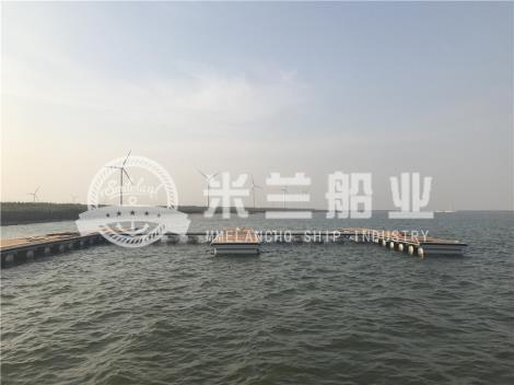 铝合金浮筒码头租赁
