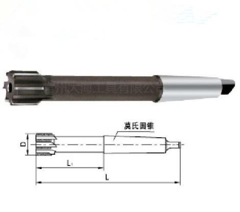 焊接硬质合金锥柄机用铰刀加工