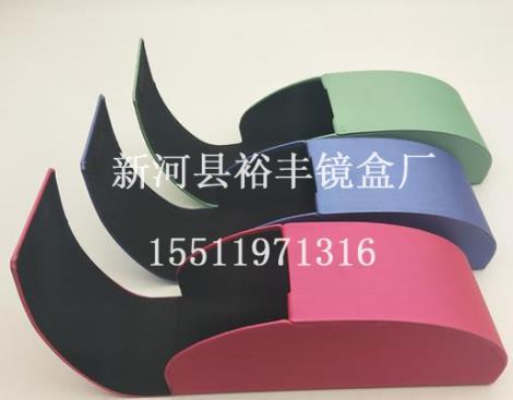丝光纹墨镜盒