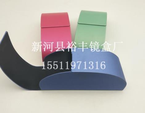 丝光纹眼镜盒