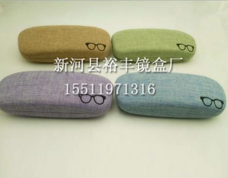 布纹眼镜盒