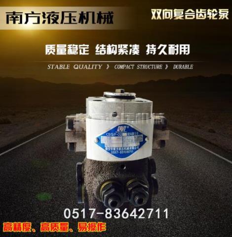 双向复合齿轮泵生产商