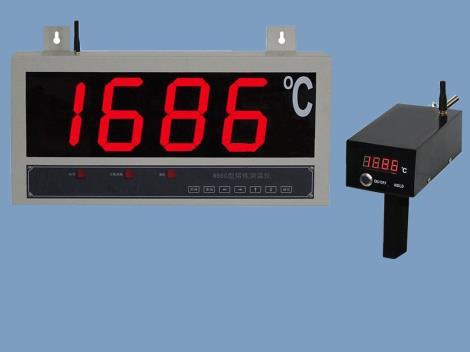 无线式大屏幕熔炼测温仪