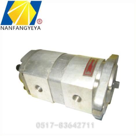 液压双联齿轮泵加工