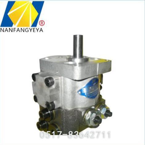 低压双联齿轮泵加工