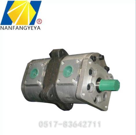 高压双联齿轮泵加工