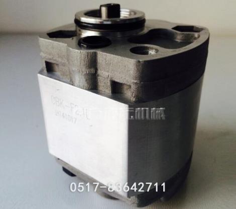 CBK-F齿轮泵加工