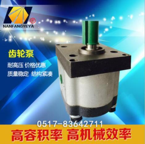 电动微型齿轮泵加工