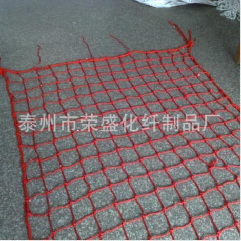 红色舷梯安全网