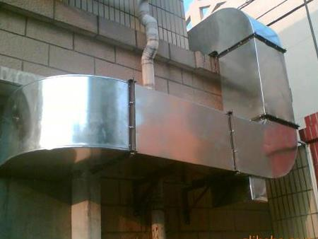 焊接通风管道