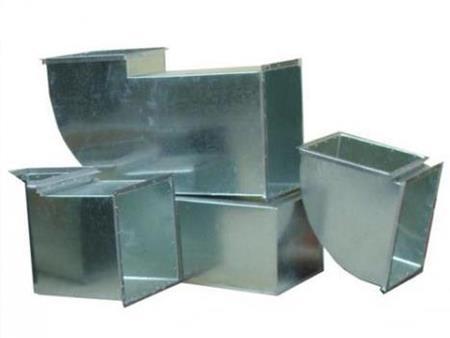 镀锌板共板法兰风管制作