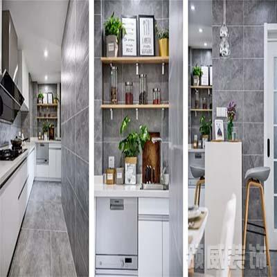 70m²北欧清居厨房