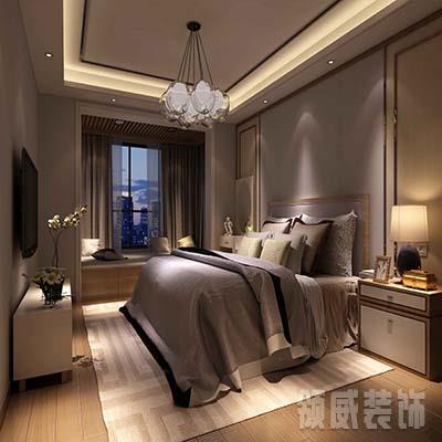 卧室背景立面参考效果图