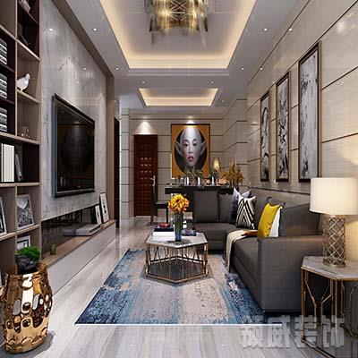 现代两室一厅装修
