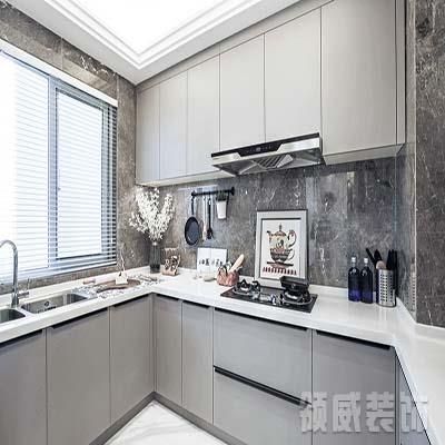 启东市现代风格厨房装修