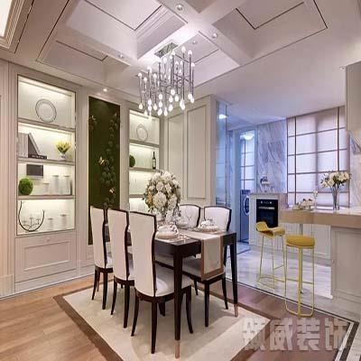 130m² 现代简约厨房