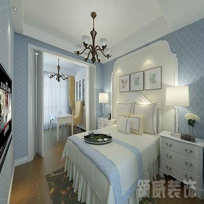 小美式风格卧室装修