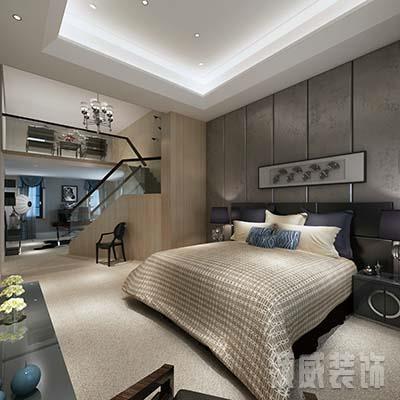 如皋市卧室客厅立面装饰