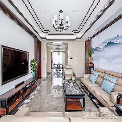 通州市183m²新中式住宅