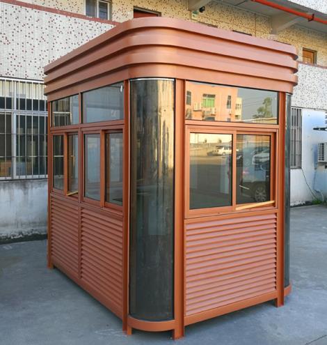 钢结构岗亭安装