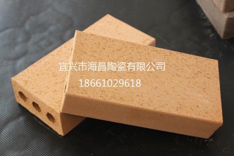 米黄色烧结砖定制
