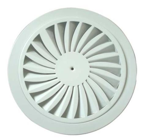 铝合金圆形模压散流器