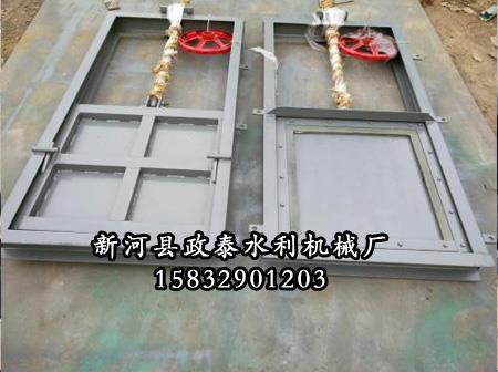 机闸一体式钢制闸门