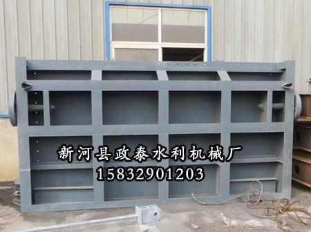 大型喷锌钢闸门