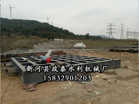 水电站钢闸门