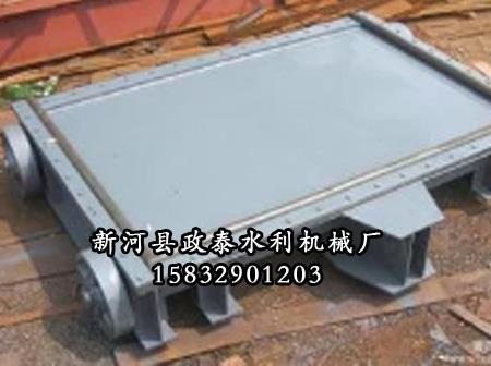 小型钢制插板闸门