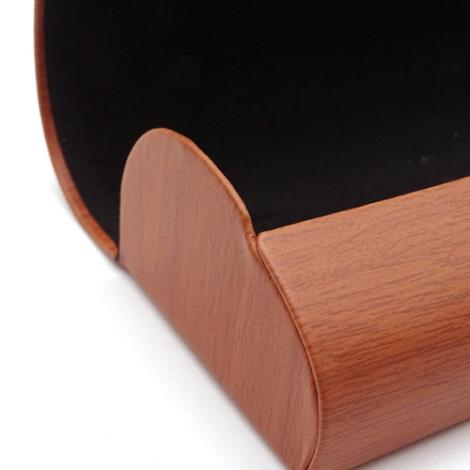 木纹少口眼镜盒加工厂家