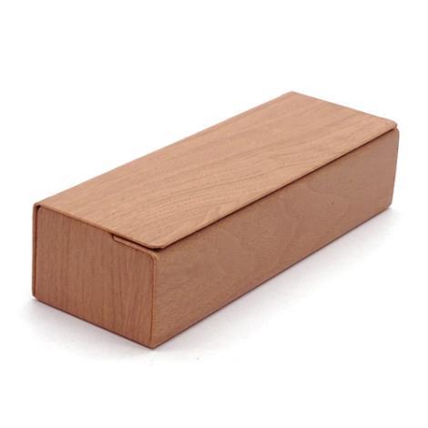方形木纹眼镜盒