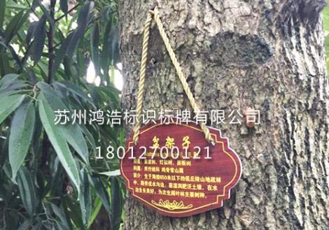 园林树木挂牌