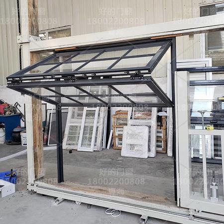 电动折叠提升窗