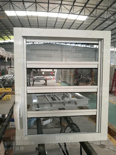 手动玻璃百叶窗定制