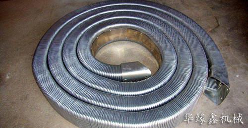矩形金属软管