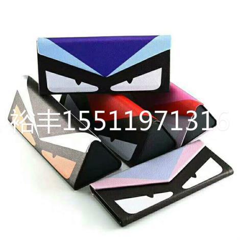 三角折叠眼镜盒定制