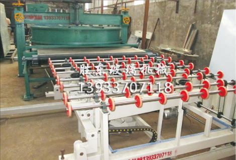 全自动水磨砂机生产线
