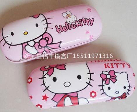 蝴蝶结儿童眼镜盒