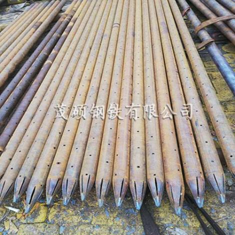 20#无缝钢管注浆管小导管加工厂