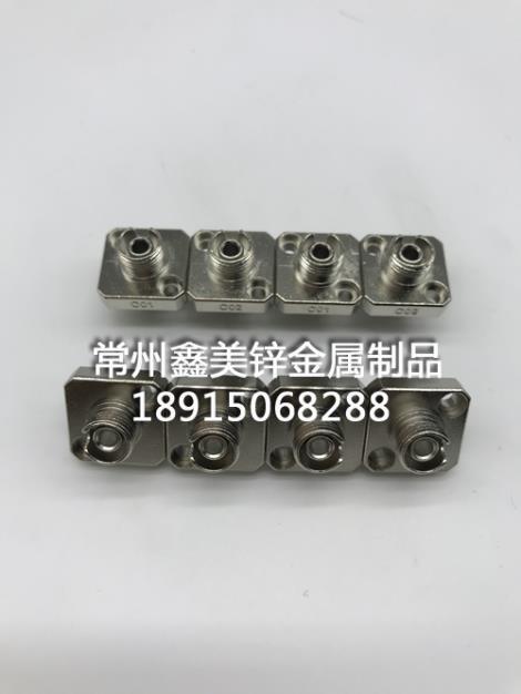 锌合金FC方形带孔法兰