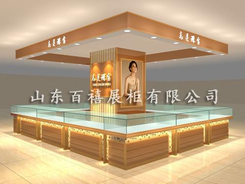 中岛珠宝展示柜