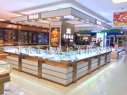 商场珠宝展示柜定制