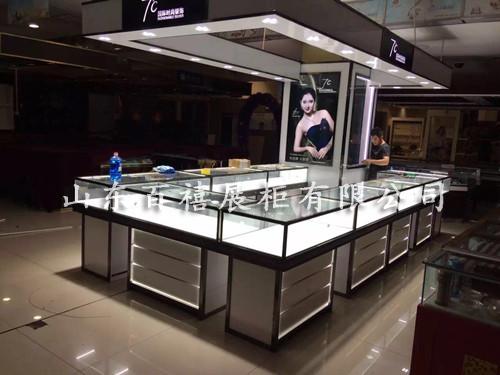 商场珠宝展示柜定制厂家