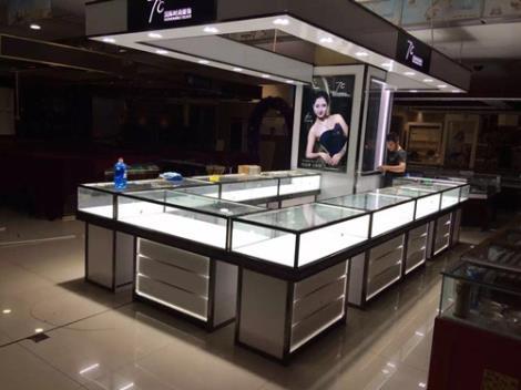 珠宝中岛展柜生产厂家
