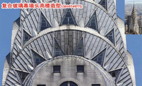 GRC线条复合玻璃幕墙