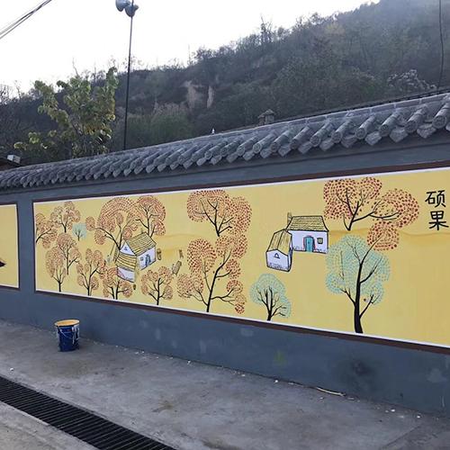 镇江墙体彩绘
