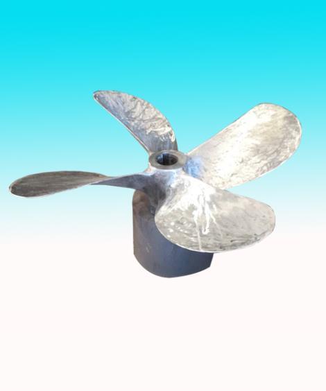 不锈钢螺旋桨修理